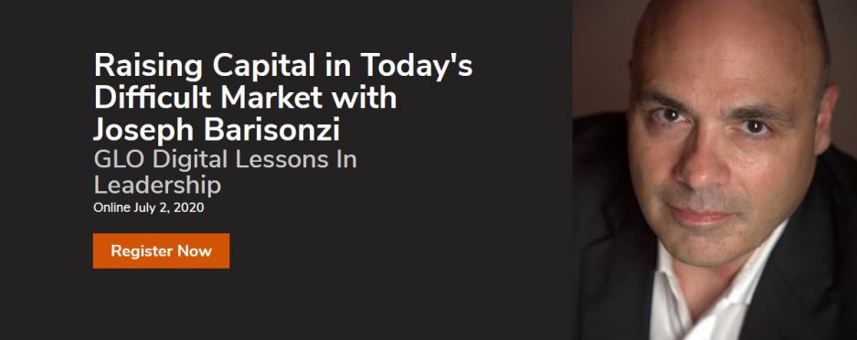 Raising Capital in Today's Difficult Market with Joseph Barisonzi