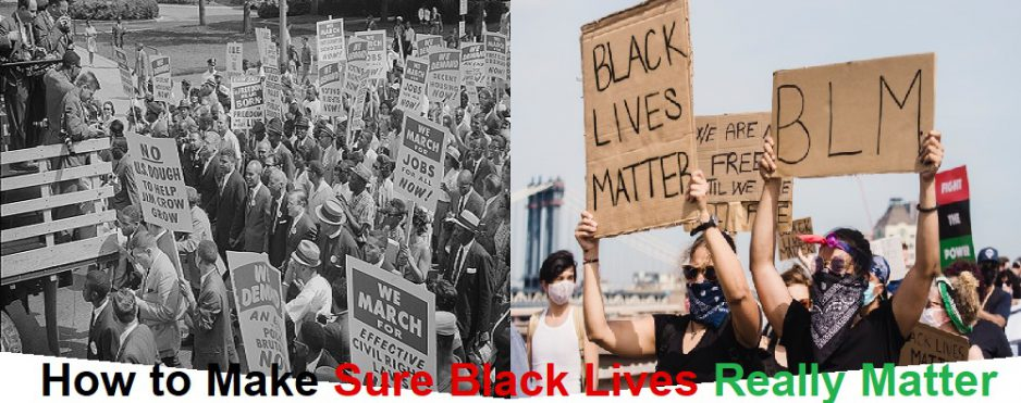 "How To Make Sure Black Lives Really Matter ""The Uprising"""