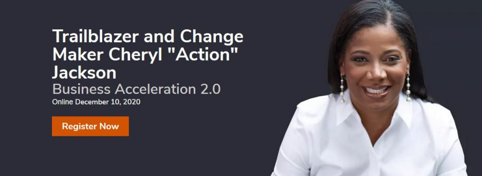 "Trailblazer And Change Maker Cheryl ""Action"" Jackson"