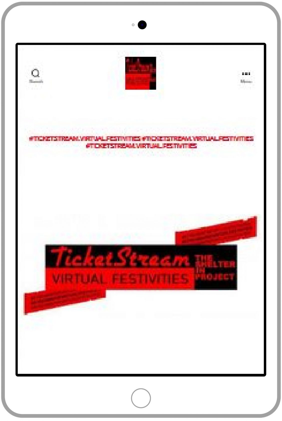 TicketStream ipad